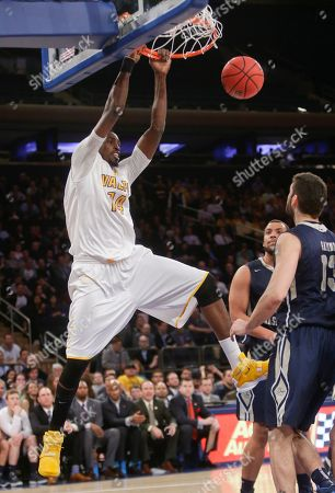 Editorial picture of NIT Championship Basketball, New York, USA