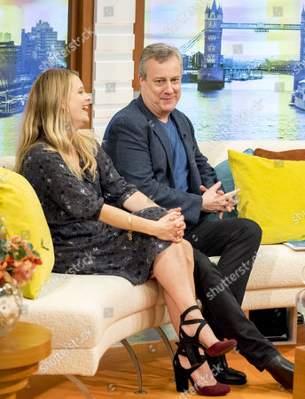 Stock Photo of Andrea Lowe and Stephen Tompkinson