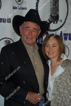 Stuart Whitman and wife Julia