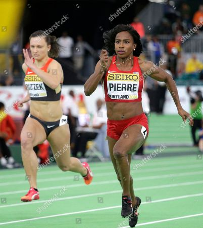 Editorial photo of US Indoor Athletics Worlds, Portland, USA