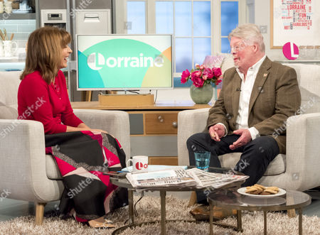 Lorraine Kelly and Simon Weston