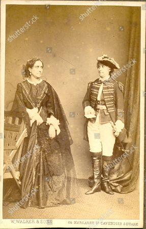 Carte De Visite Photograph Of Madame Celine Celeste 1815 1882 Performed In
