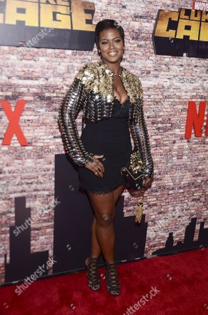 Editorial photo of Netflix Premiere of Marvel's 'Luke Cage' in Harlem, New York, USA - 28 Sep 2016