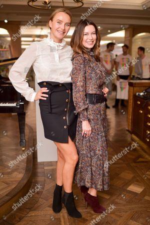 Katya Formichev and Masha Markova Hanson