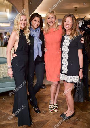 Jenny Halpern, Lucy Doughty, Tania Bryer and Heather Kerzner