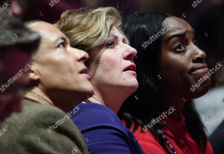 Clive Lewis, Emily Thornberry and Kate Osamor