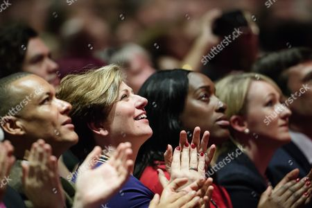 Clive Lewis, Emily Thornberry, Kate Osamor and Rebecca Long-Bailey