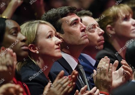 Kate Osamor, Rebecca Long-Bailey, Andy Burnham and Iain McNicol