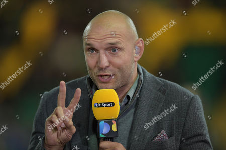 Ben Kay commentating - Rugby Union - Aviva Premiership - Round 5 - Northampton Saints v Exeter Chiefs - 30/09/16 - At Franklin's Gardens, Northampton UK. Photo Credit - Tom Dwyer/Seconds Left Images