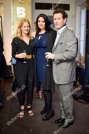 Verity Marshall, Nick Moran and Dr Jasmin Duran