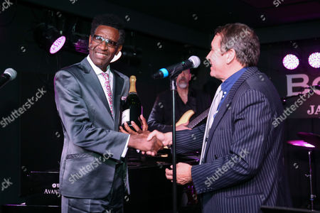 Stock Picture of Reuben James Richards, winner of Best Soul Singer, Jools Holland