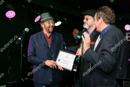 Chas Hodges and Dave Peacock with Jools Holland