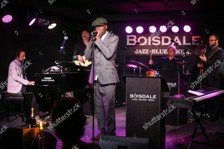 Editorial photo of The Boisdale Music Awards at Boisdale of Canary Wharf, London, Britain on 29 Sep 2016.