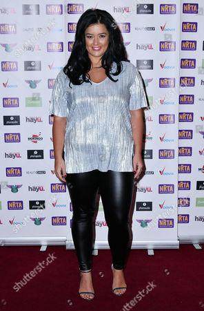 Editorial image of National Reality TV Awards, London, UK - 29 Sep 2016