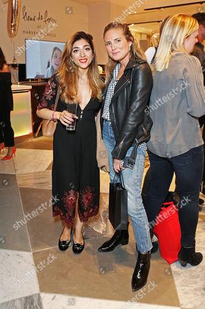 Stock Photo of Amelia Liana with Lucy Williams
