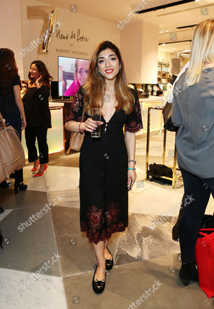 Editorial image of Fleur De Force 7 years on YouTube party at Harvey Nichols, London, UK - 29 Sep 2016