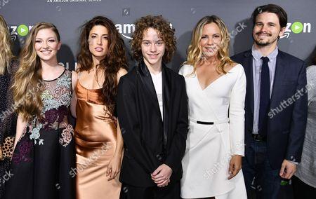 Diana Hopper, Tania Raymonde, Britain Dalton, Maria Bello and Jason Ritter