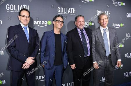 Jonathan Shapiro, Larry Trilling, Morgan Wandell and Ross Fineman