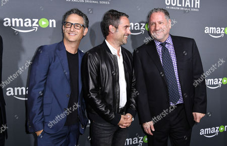 Editorial image of Amazon Premiere Screening of 'Goliath', Arrivals, Los Angeles, USA - 29 Sep 2016