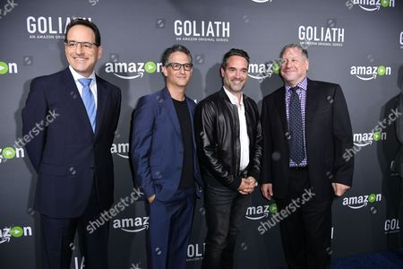 Editorial picture of Amazon Premiere Screening of 'Goliath', Arrivals, Los Angeles, USA - 29 Sep 2016