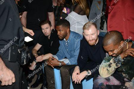 Stock Picture of Frank Ocean, Guram Gvasalia, Kanye West