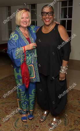 Editorial picture of Ovalhouse fundraising event at The May Fair Hotel, London, UK - 29 Sep 2016