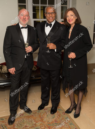Stock Picture of Dominic Carter (actor), Gary Wilmot and Belinda Lang