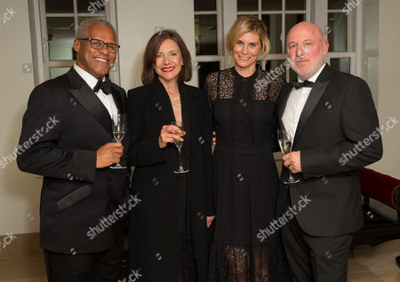 Editorial image of Ovalhouse fundraising event at The May Fair Hotel, London, UK - 29 Sep 2016