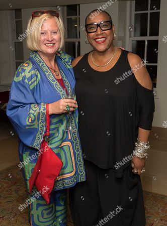 Stock Photo of Jenny Sealy OBE and Paulette Randall OBE