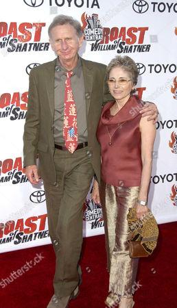 Rene Auberjonois and wife Judith