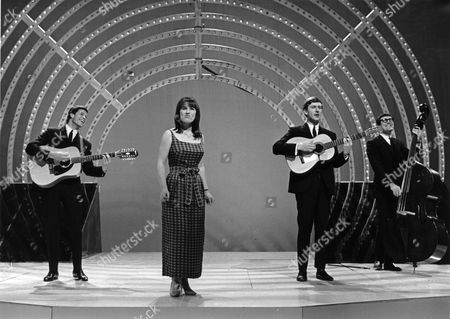 The Seekers - Keith Potger, Judith Durham, Bruce Woodley and Athol Guy