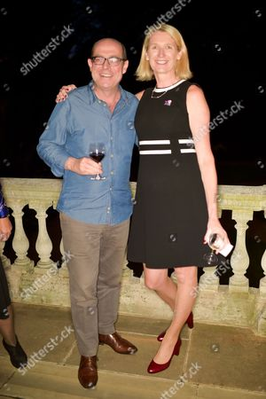 Nick Robinson and Lynda Thomas