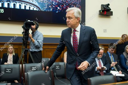 John Stumpf Wells Fargo CEO John Stumpf arrives on Capitol Hill in Washington, to testify before the House Financial Services Committee investigating Wells Fargo's opening of unauthorized customer accounts