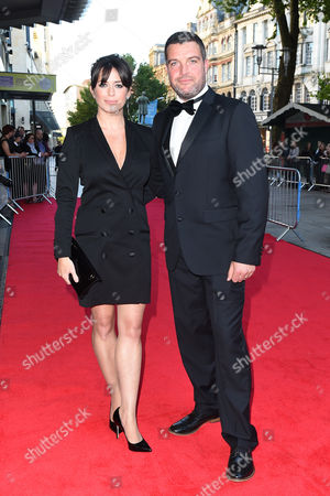 Stock Image of Eve Myles and Bradley Freegard
