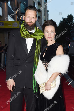 Stock Photo of Richard Sainsbury and Amanda Mealing