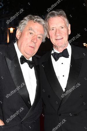 Terry Jones and Michael Palin