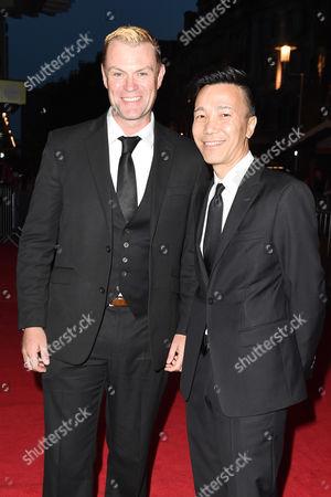 Stock Photo of Julian Lewis Jones and Yu-Fai Suen