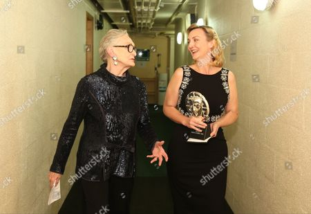 Sian Phillips with Sian Grigg