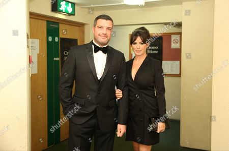 Bradley Freegard and Eve Myles