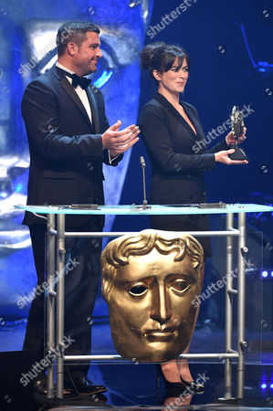 Bradley Freegard and Eve Myles present Photography: Factual Award
