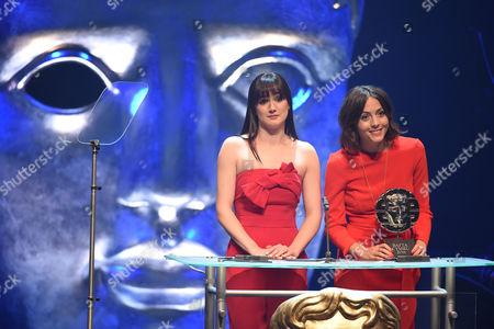Sara Lloyd-Gregory and Catrin Stewart present Short Film Award