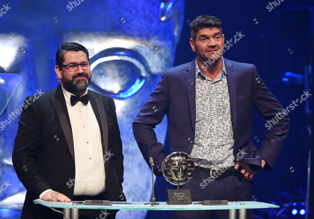 Spencer Wilding and Richard Ellis present Special and Visual Effects, Titles and Graphic Identity award