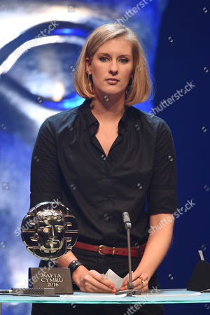 Stock Photo of Clare Sturges collects Short Film Award for 'My Brief Eternity: Ar Awyr Le'