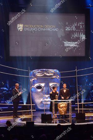 Citation readers Naoko Mori and Gareth David-Lloyd the Production Design Award