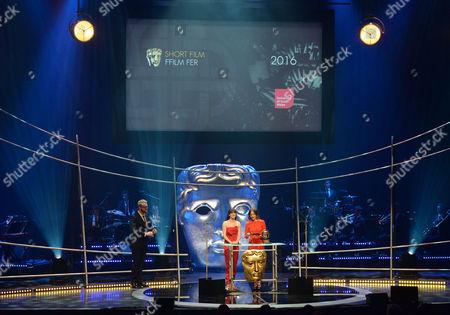 Editorial photo of BAFTA Cymru Awards, Show, Cardiff, Wales, UK - 02 Oct 2016