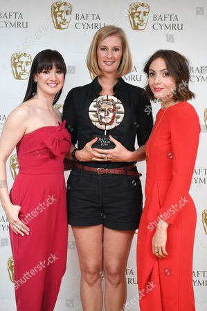 Editorial picture of BAFTA Cymru Awards, Press Room, Cardiff, Wales, UK - 02 Oct 2016