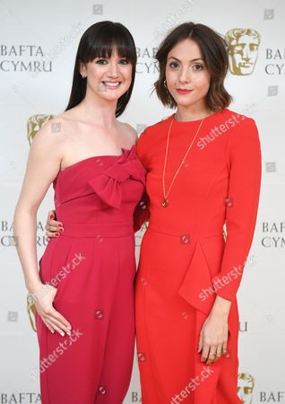Sara Lloyd-Gregory and Catrin Stewart