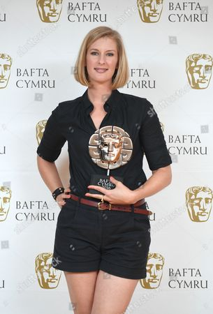 Stock Picture of Clare Sturges winner of Short Film award for My Brief Eternity: Ar Awyr Le - Brightest Films