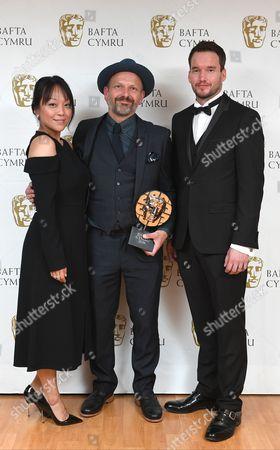 Naoko Mori, Tim Dickel and Gareth David-Lloyd