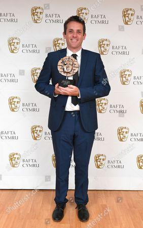 Ed Talfan winner of Writer award for Yr Ymadawiad - Severn Screen
